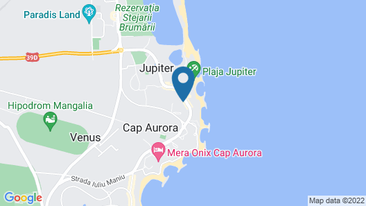 HOTEL OPAL Cap Aurora Map