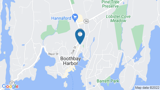 Bayberry House Bed and Breakfast Map