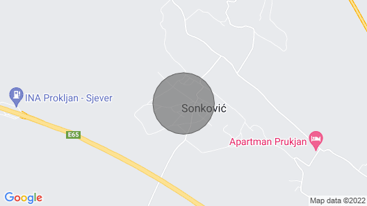 Holiday Home Rosko near Krka Map