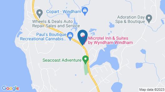 Microtel Inn & Suites By Wyndham Windham Map