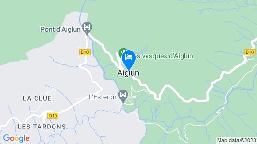 Auberge de Calendal Map