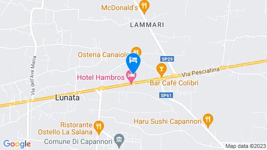 Hotel Hambros Il Parco Map