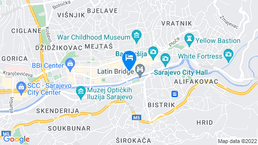 Europe Hotel Map