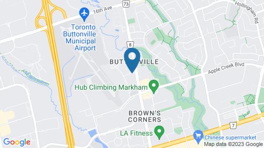 Monte Carlo Inn Toronto - Markham Map