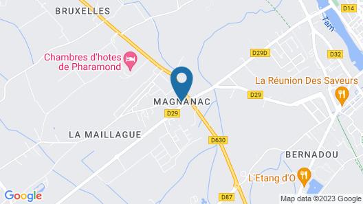 Chambres d'hotes de Pharamond Map