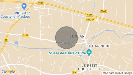 Dansavan Gite Atypique a Coté Champ de Lavande Face au Luberon Map