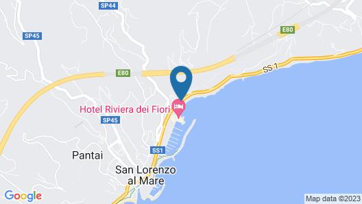 Hotel Riviera dei Fiori Map