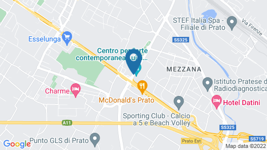 Art Hotel Museo Map