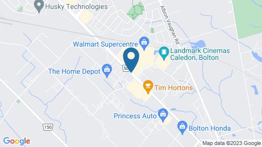 Hampton Inn & Suites by Hilton Bolton, ON, Canada Map