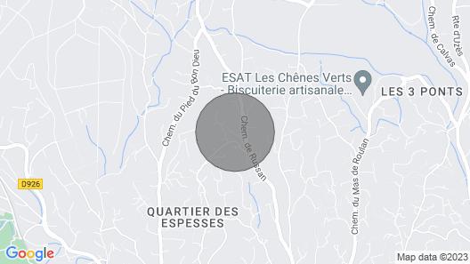 Gypsy caravan in Nîmes Map