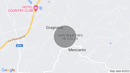 3 Bedroom Accommodation in S.martino in Colle LU Map
