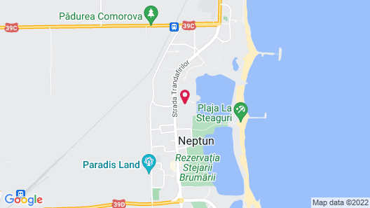 Hotel Insula Neptun Map