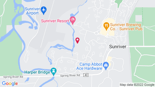 The Pines at Sunriver Map
