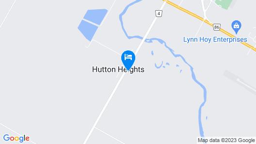 Wingham Motel Map