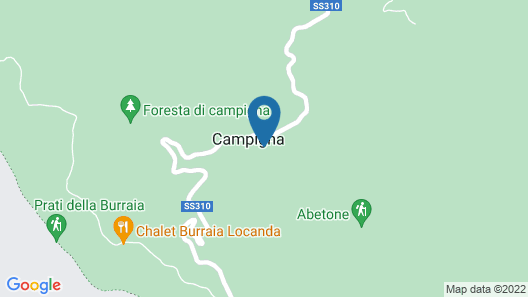Spa Hotel Granduca Map