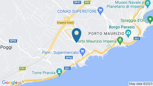 Il Nido Resort Map