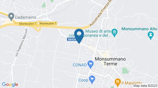 Pietra & Glicine B&B Map