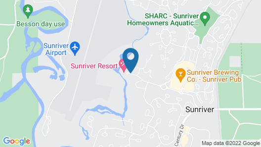 Sunriver Resort - Destination Hotels Map
