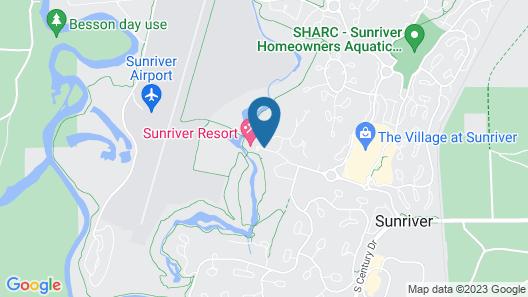 Sunriver Resort Map