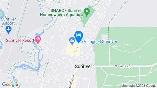 Mountain Resort Properties At Sunriver Map