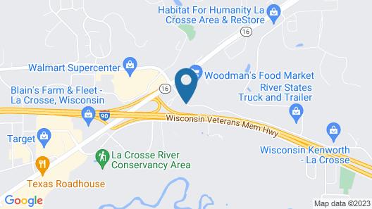 Microtel Inn by Wyndham Onalaska/La Crosse Map