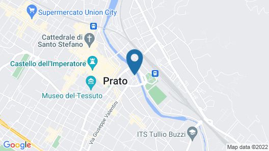 Art Hotel Milano Map