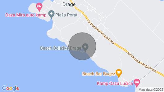 Apartment SZ A1 - Drage, Riviera Biograd, Croatia Map