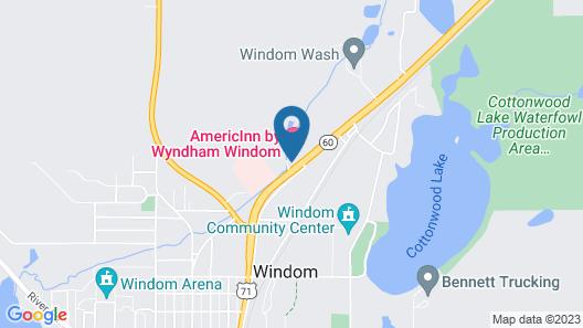 AmericInn by Wyndham Windom Map