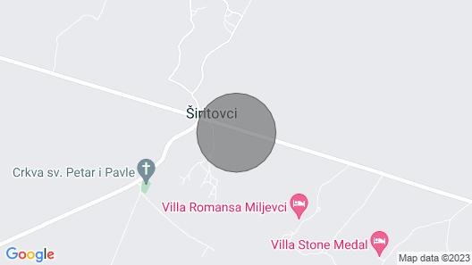 Villa Tonka Near Krka National Park With big Pool and 4 Mountines Bikes at Disposal Map