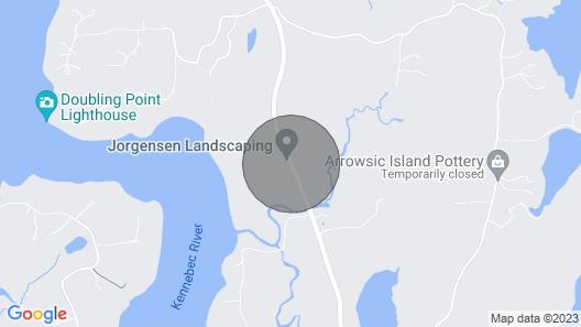 Lilac Cottage - Near Georgetown Island - Midcoast Maine Map
