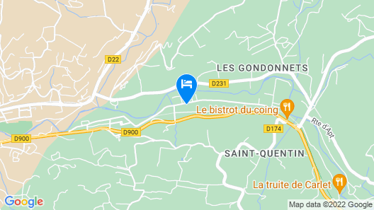 Cottage Saignon in the Heart of Lubéron Map
