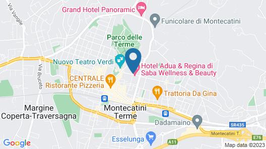 Albergo Natucci Map