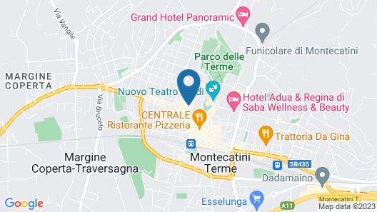 Grand Hotel Terme Tamerici e Principe Map