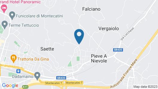 Villa Pitti Amerighi Map
