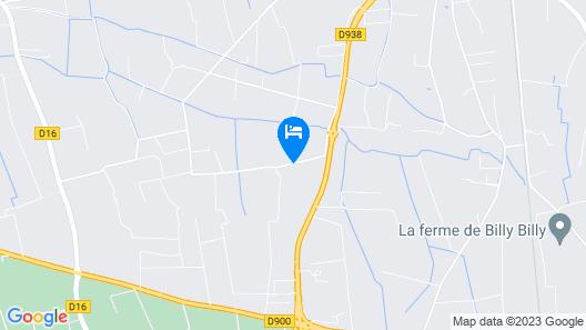 La Bastide des Joncquiers Map