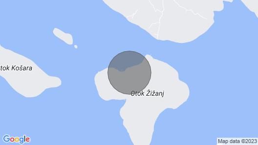 House Orange - Zizanj - Island Zizanj Map