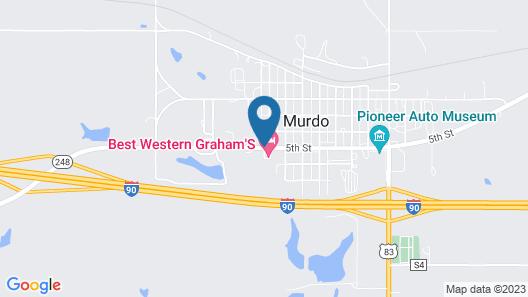 Best Western Graham's Map
