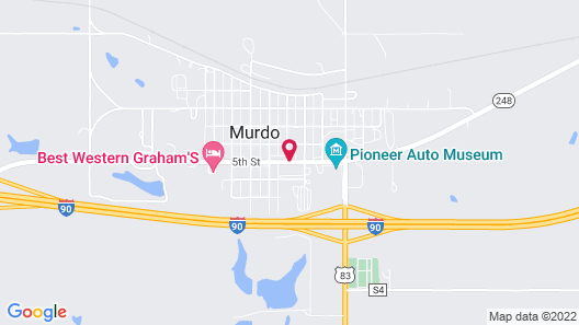 Sioux Motel Map