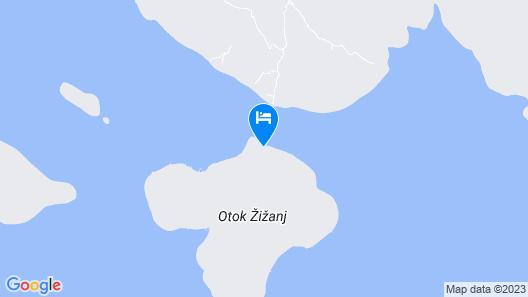 House Morning Star - Zizanj - Island Zizanj Map