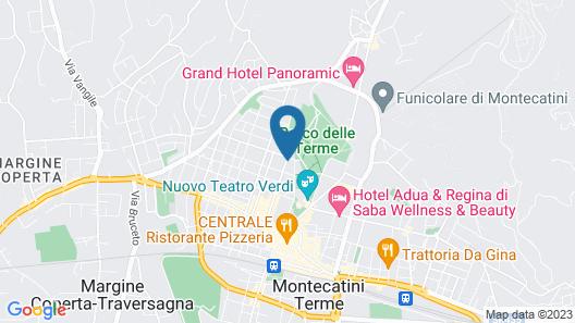 Grand Hotel Croce di Malta Wellness & Golf Map