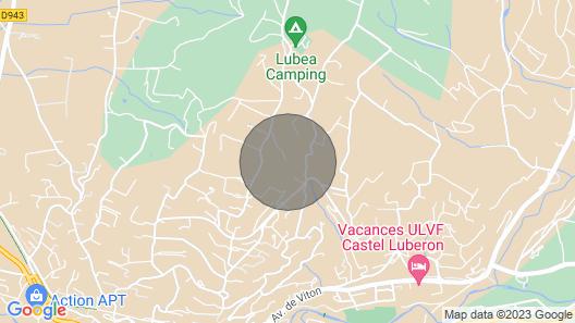 Bastide Grande Para 15 + 4 no Luberon, Vista Magnífica, Piscina Aquecida Map