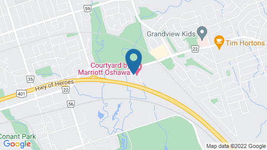 TownePlace Suites by Marriott Oshawa Map