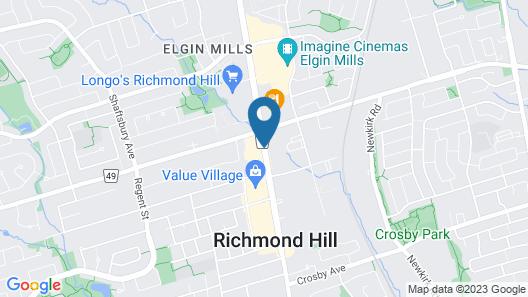 Travelodge by Wyndham Richmond Hill Map