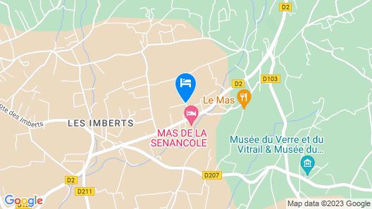 Le Mas des Etoiles - Luberon B&B Map