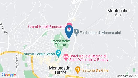 Bellavista Palace Hotel Map