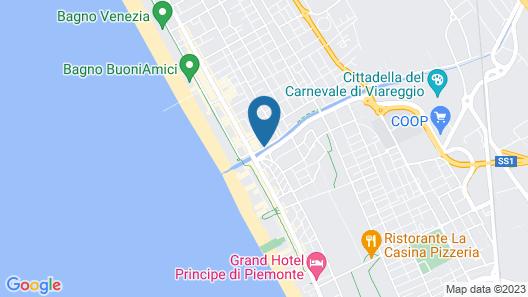 Hotel Burlamacco Map