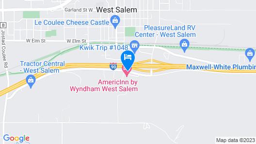 AmericInn by Wyndham West Salem Map