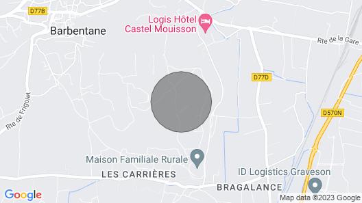 Maison La Montagnette at Provence-Alpes-Côte d'Azur Map