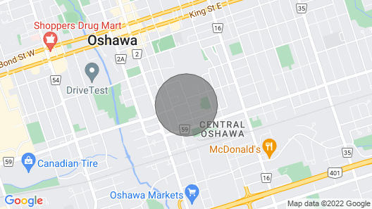 House DT of Oshawa Map