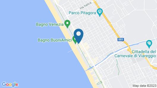 Grand Hotel Riviera/appartements Riviera Map